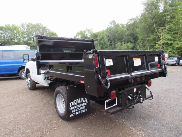 2018 Silverado 3500 Regular Cab DRW 4x4,  Rugby Eliminator LP Steel Dump Body #28124 - photo 2