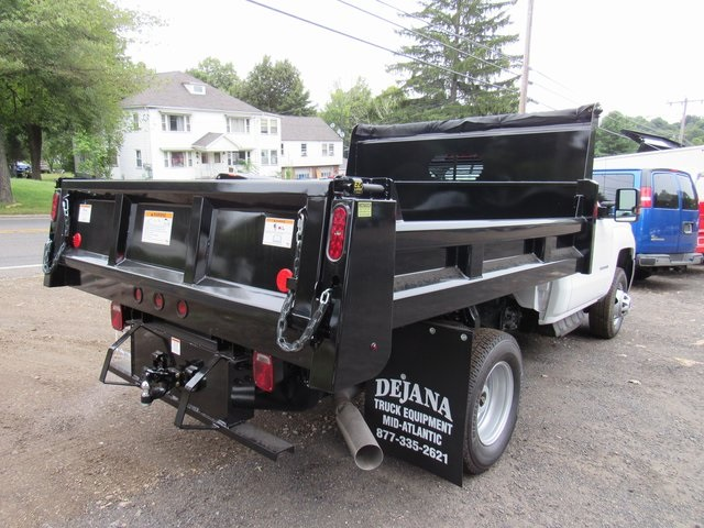 2018 Silverado 3500 Regular Cab DRW 4x4,  Rugby Eliminator LP Steel Dump Body #28124 - photo 7