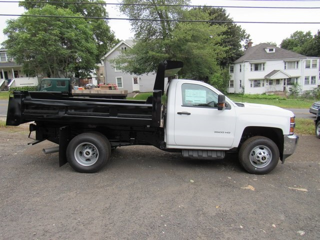 2018 Silverado 3500 Regular Cab DRW 4x4,  Rugby Eliminator LP Steel Dump Body #28124 - photo 8