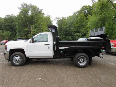 2018 Silverado 3500 Regular Cab DRW 4x4,  Rugby Eliminator LP Steel Dump Body #28124 - photo 5