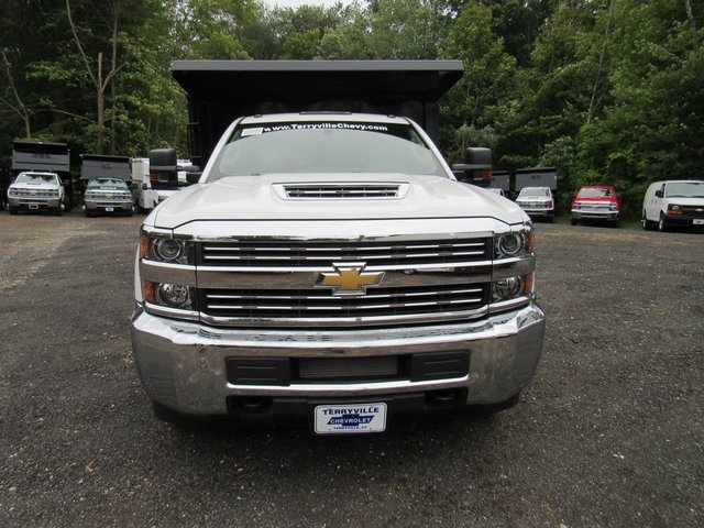 2018 Silverado 3500 Regular Cab DRW 4x4,  Reading Landscape Dump #28132 - photo 3