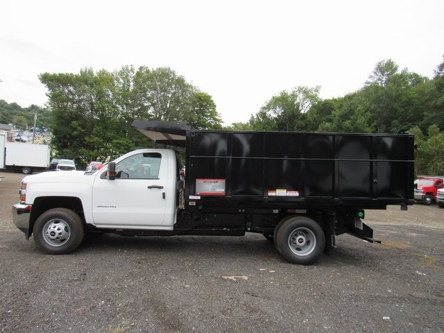 2018 Silverado 3500 Regular Cab DRW 4x4,  Reading Landscape Dump #28132 - photo 2