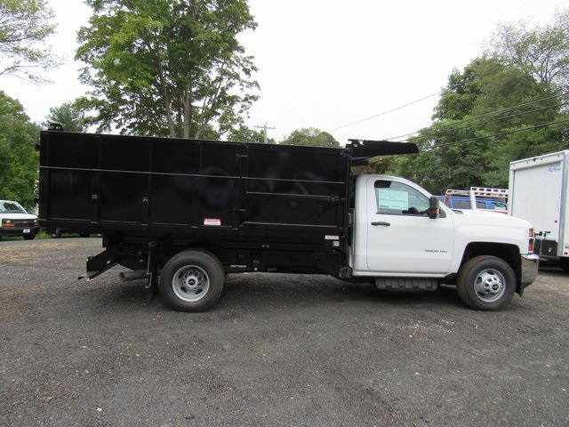 2018 Silverado 3500 Regular Cab DRW 4x4,  Reading Landscape Dump #28132 - photo 8