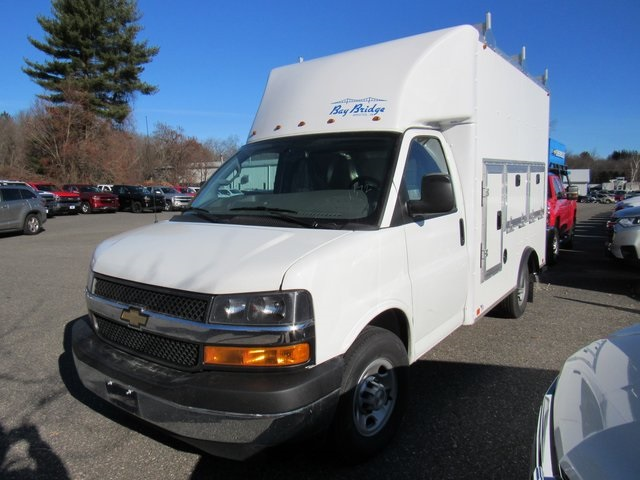 2018 Express 3500 4x2,  Bay Bridge Tool Pro Service Utility Van #28339 - photo 1