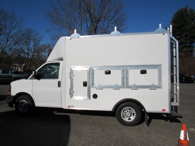 2018 Express 3500 4x2,  Bay Bridge Tool Pro Service Utility Van #28339 - photo 5