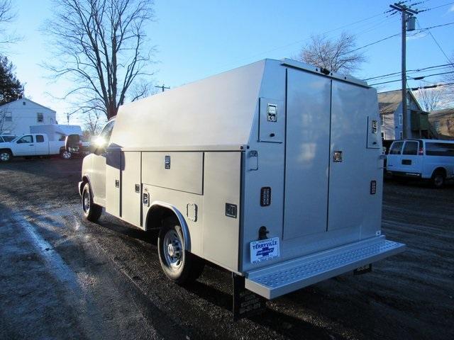 2019 Express 3500 4x2, Reading Aluminum CSV Service Utility Van (Stock  #28421)