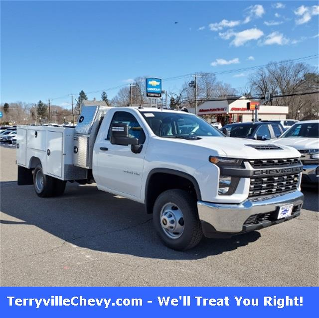 2020 Chevrolet Silverado 3500 Regular Cab DRW 4x4, Rugby Dump Body #29376 - photo 1