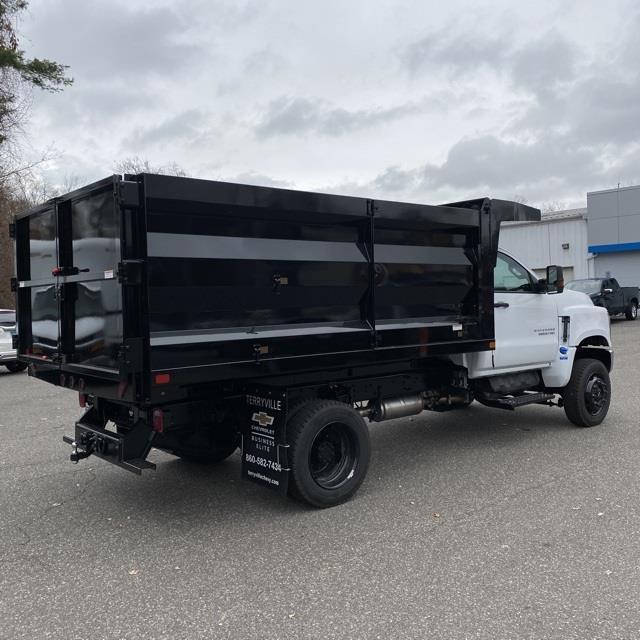 2020 Chevrolet Silverado Medium Duty Regular Cab DRW 4x4, Landscape Dump #29406 - photo 1