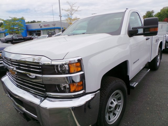 2016 Silverado 3500 Regular Cab 4x4, Reading Service Body #C160177 - photo 4