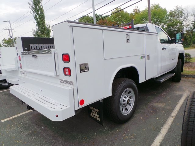 2016 Silverado 3500 Regular Cab 4x4, Reading Service Body #C160177 - photo 2