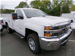 2016 Silverado 3500 Regular Cab 4x4, Reading Service Body #C160177 - photo 1