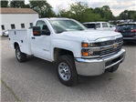 2017 Silverado 3500 Regular Cab 4x4, Service Body #C170057 - photo 1