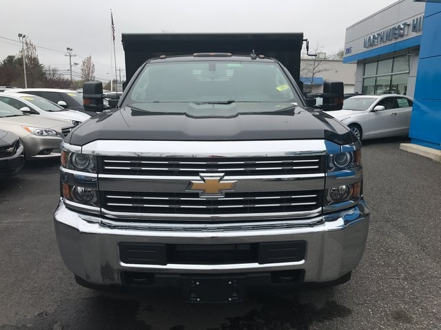 2017 Silverado 3500 Regular Cab 4x4, Reading Dump Body #C17783 - photo 3