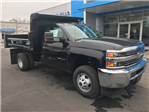2017 Silverado 3500 Regular Cab 4x4, Reading Dump Body #C17783 - photo 1