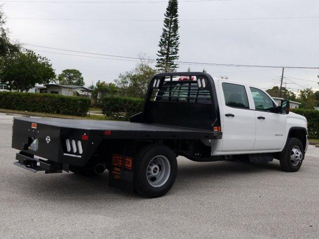 2019 Sierra 3500 Crew Cab DRW 4x4,  CM Truck Beds Platform Body #KF175948 - photo 1