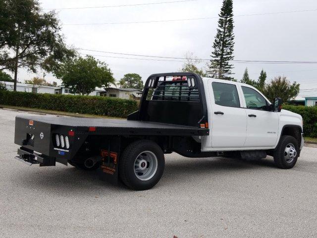2019 Sierra 3500 Crew Cab DRW 4x4,  CM Truck Beds Platform Body #KF176086 - photo 1