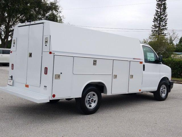 2019 Savana 3500 4x2,  Reading Service Utility Van #KN002112 - photo 2