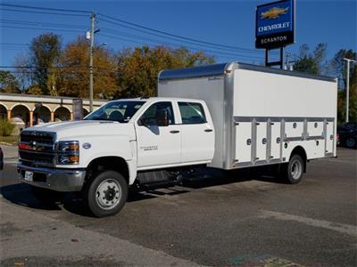 2019 Chevrolet Silverado 5500 Crew Cab DRW 4x4, Dejana DuraBox Dry Freight #E6586 - photo 5
