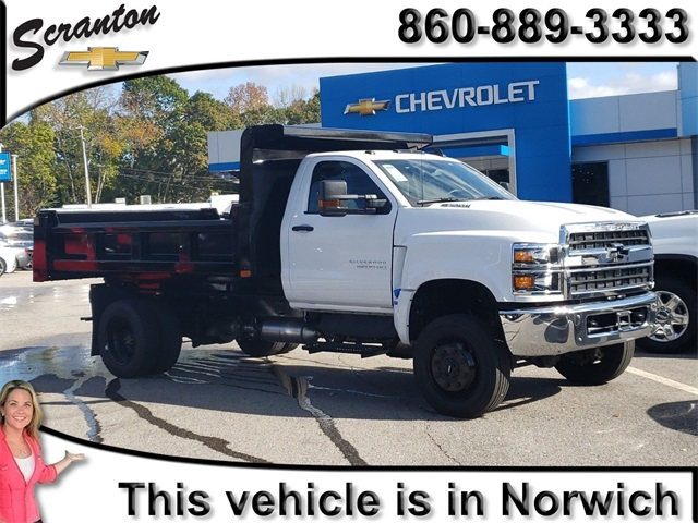 2019 Chevrolet Silverado Medium Duty Regular Cab DRW 4x4,  Rugby Dump Body #E6867 - photo 1