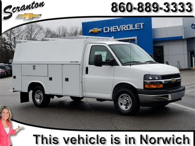 2019 Chevrolet Express 3500 4x2, Reading Service Utility Van #E6977 - photo 1