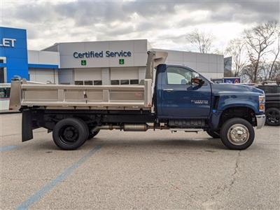 2020 Chevrolet Silverado 5500 Regular Cab DRW 4x4, Rugby Dump Body #F7104 - photo 3