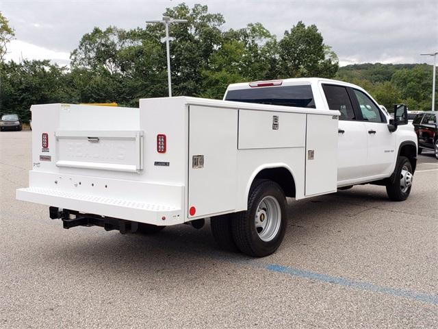 2020 Chevrolet Silverado 3500 Crew Cab DRW 4x4, Reading Service Body #F7332 - photo 1