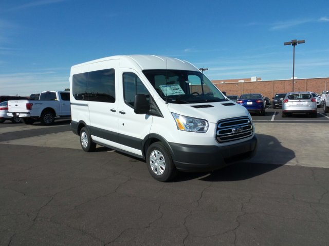 2016 Transit 150 Medium Roof, Passenger Wagon #166591 - photo 3