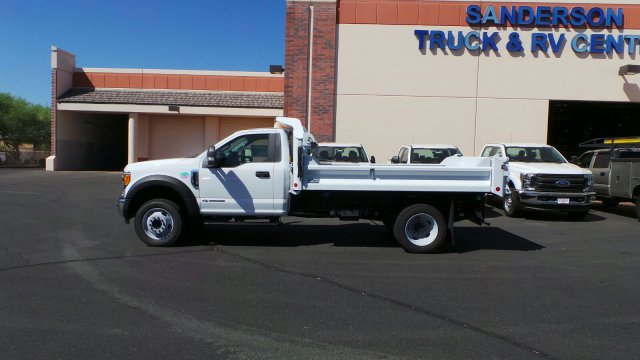 2017 F-550 Regular Cab DRW 4x2,  Crysteel Dump Body #176214 - photo 2