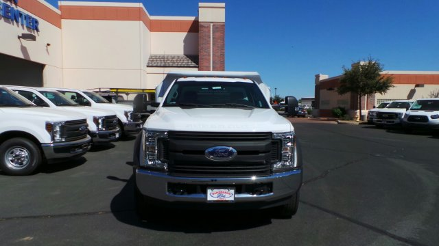 2017 F-550 Regular Cab DRW 4x2,  Crysteel Dump Body #176214 - photo 3