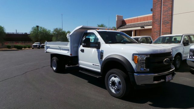 2017 F-550 Regular Cab DRW 4x2,  Crysteel Dump Body #176214 - photo 4