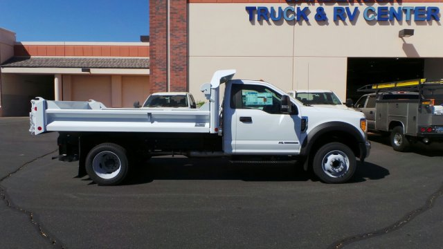 2017 F-550 Regular Cab DRW 4x2,  Crysteel Dump Body #176214 - photo 5