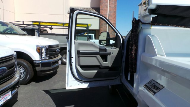 2017 F-550 Regular Cab DRW 4x2,  Crysteel Dump Body #176214 - photo 23