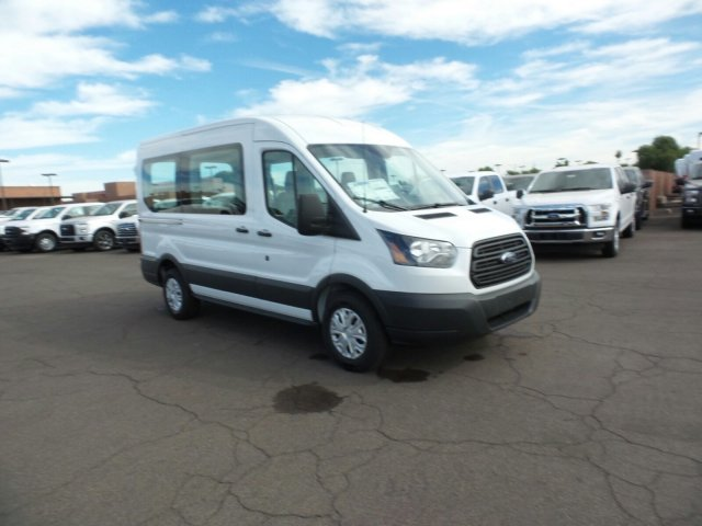 2017 Transit 150 Medium Roof, Passenger Wagon #177316 - photo 3