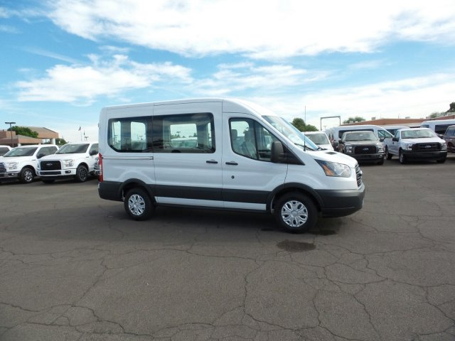 2017 Transit 150 Medium Roof, Passenger Wagon #177316 - photo 4