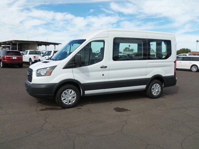 2017 Transit 150 Medium Roof, Passenger Wagon #177316 - photo 7