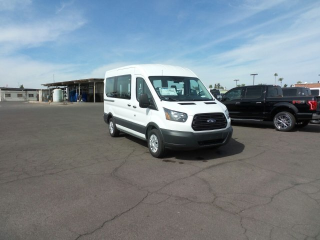 2017 Transit 150 Medium Roof, Cargo Van #177317 - photo 3