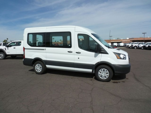 2017 Transit 150 Medium Roof, Cargo Van #177317 - photo 4