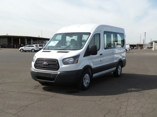2017 Transit 150 Medium Roof, Cargo Van #177317 - photo 7