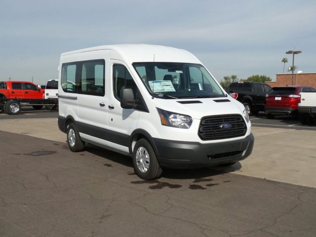 2017 Transit 150 Medium Roof, Cargo Van #177319 - photo 3