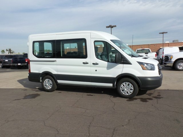2017 Transit 150 Medium Roof, Cargo Van #177319 - photo 4