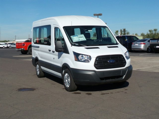 2017 Transit 150 Medium Roof, Cargo Van #177351 - photo 3