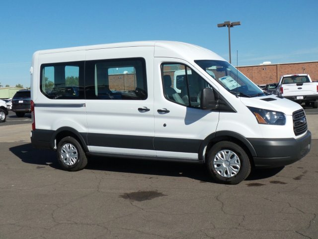2017 Transit 150 Medium Roof, Cargo Van #177351 - photo 4