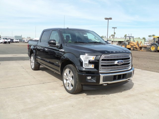 2017 F-150 SuperCrew Cab 4x4, Pickup #178170 - photo 3