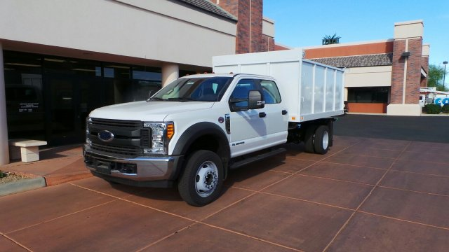 2017 F-550 Crew Cab DRW 4x2,  Knapheide Value-Master X Landscape Dump #179907 - photo 1