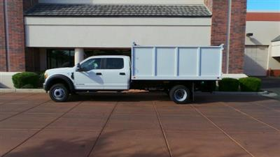 2017 F-550 Crew Cab DRW 4x2,  Knapheide Value-Master X Landscape Dump #179907 - photo 2