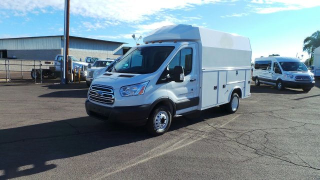 2018 Transit 350 HD DRW 4x2,  Service Utility Van #186568 - photo 8