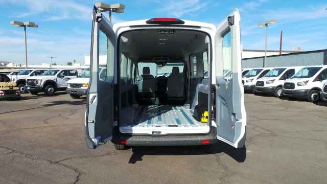 2018 Transit 350 Med Roof 4x2,  Passenger Wagon #188248 - photo 9