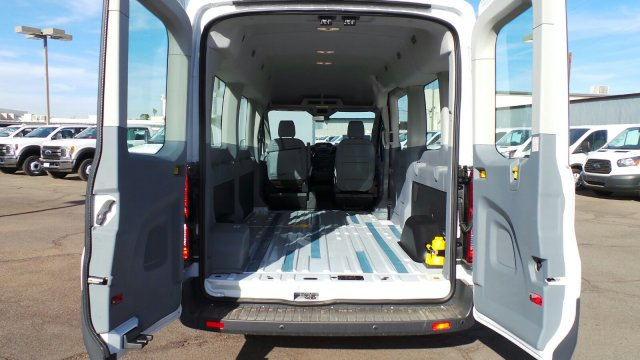 2018 Transit 350 Med Roof 4x2,  Passenger Wagon #188248 - photo 3