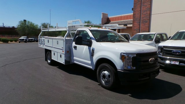 2018 F-350 Regular Cab DRW 4x2,  Knapheide Contractor Body #189535 - photo 4