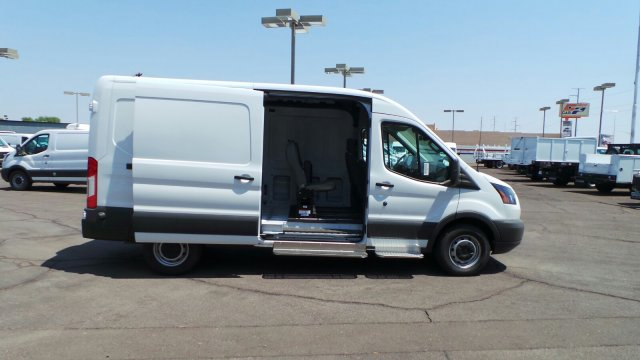 2018 Transit 250 Med Roof 4x2,  Empty Cargo Van #189842 - photo 4